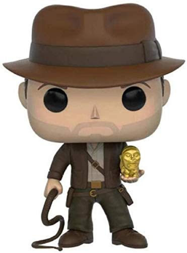 Animeraiders of The Lost Ark Indiana Jones Model Statue Collectible PVC Doll Model Toys 3 75 Inches