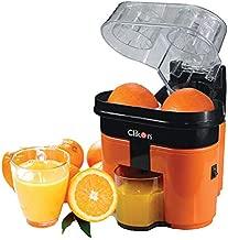 Clikon - Juice Extractor, Citrus Orange & Black Coloring, Dual Squeezers - CK2258