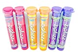 Zipfizz Healthy Sports Energy Mix with Vitamin B12 Grape, Fruit Punch & Orange Soda 6 (11g) Tubes - Small Storage Space Friendly!