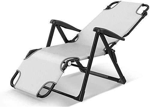 WANGCAI Balcón Inicio de Ocio Silla Plegable portátil de Cuatro Estaciones universales sillas Plegables ChairZero Gravity - Plegable y reclinable Sun hamacas