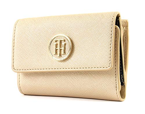 Tommy Hilfiger Honey Medium Flap Wallet Gold