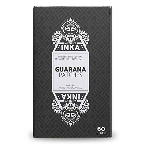 Guarana Patches 40 mg Koffein 60 Transdermale Pflaster • Energie & Konzentration • Kaffee-Alternative