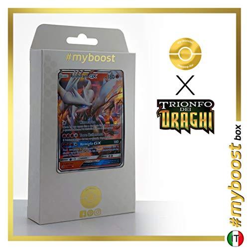 Reshiram-GX 11/70 - #myboost X Sole E Luna 7.5 Trionfo dei Draghi - Box di 10 Carte Pokémon Italiane