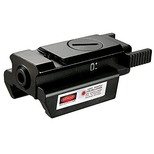Compatto 20mm tattico di Iron jia Picatinny del tessitore di Hill Punto Rosso Pistola la Pistola Struttura mirino Laser Senza Batteria