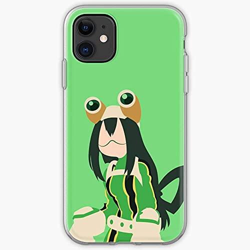 Boku No Hero Froppy Asui Tsuyu Bnha Academia Mha Tsu Cajas del Teléfono Cover iPhone Samsung Xiaomi Redmi Note 10 Pro/Note 9/Poco M3 Pro/Note 8/Poco X3 Pro Funda