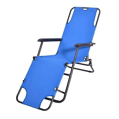 Silla plegable para exterior Silla de camping Silla plegable ligera, ajustable, puede acostarse, con bolsa de transporte, adecuada para senderismo