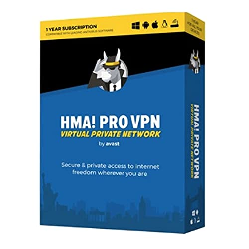Avast Hide My Ass! Pro VPN 1-Year/Unlimited Devices