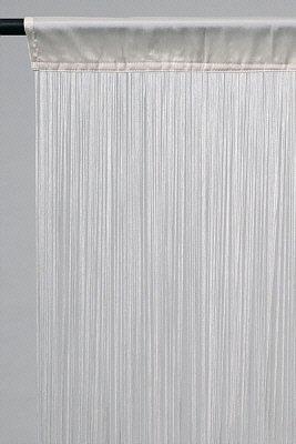 Tenda a fili, 149,9cm larghezza x 400cm bianco