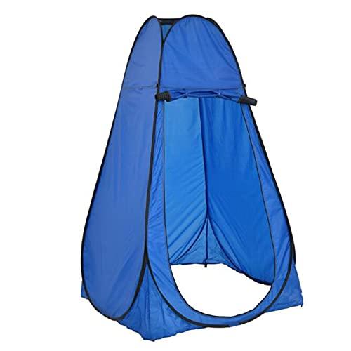 JYGHM Portátil Pop Up Tent, Ducha Privacidad Tienda de Tiendas de Inodoro, Vestido al Aire Libre Pesca Bañera Tiendas de Almacenamiento, Azul