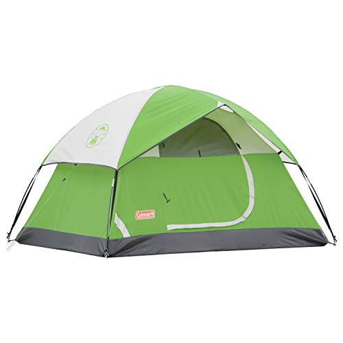 Image of the Coleman Camping Tent | 4 Person Sundome Dome Tent, Green