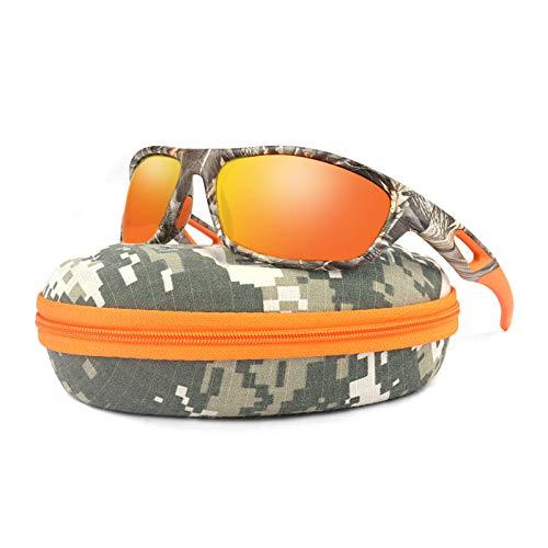 Polarized Fishing Camo Sunglasses for Men,UV Protection HD Vision Sun...