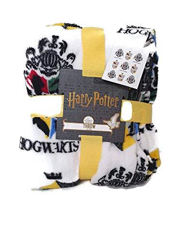 Lizensierte Primark Harry Potter-Ravenclaw-Kuscheldecke, Fleece, super weich, für Reisen, Bett, Überwurf, Geschenk
