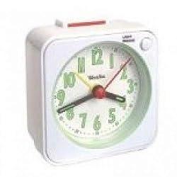 Westclox Gen Quartz Travel Alarm (White)
