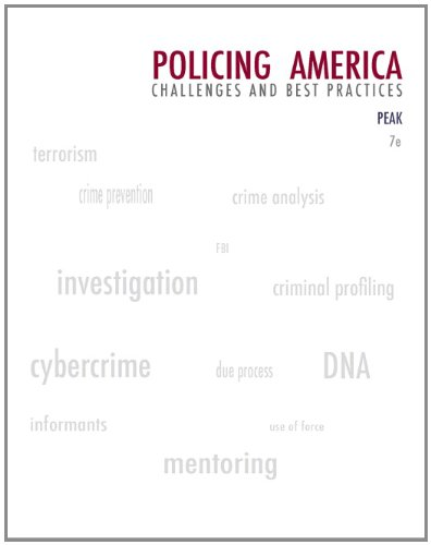 Image OfPolicing America: Challenges And Best Practices (Careers In Law Enforcement And Public/Private Policing)