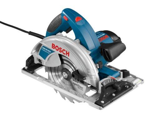 Bosch Professional cirkelzaag GKS 65 GCE (met geleiderail FSN 1600 & HM zaagblad 190 mm, in L-BOXX)