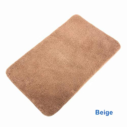 Dog Beds Dog Houses Kennel Super Absorbent High Height Plush Dog Mat Dog Pad For Small Medium Large Pets With Super Comfy Plush Fleece Anti Skid Bottom Xl80X120Cm Beige