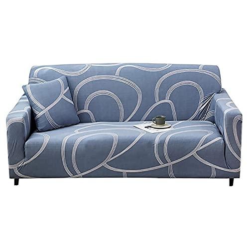ASCV Funda de sofá Cama sin reposabrazos Fundas de Asiento Plegables Funda elástica Protector de sofá Fundas de futón de Banco elástico Moderno A5 2 plazas