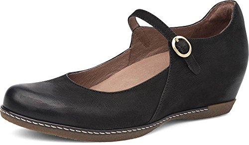 Dansko Women's Loralie Black Wedge 8.5-9 M US