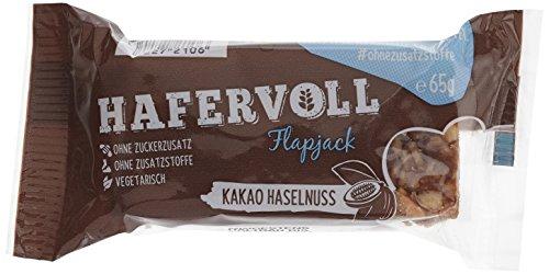 Hafervoll Flapjack Kakao-Haselnuss, 6er Pack (6 x 65 g)