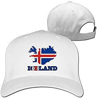 Iceland Wordart Iceland Flag Map Clipart Man Woman Baseball Caps Ash