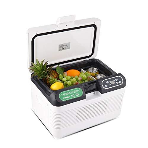 JOMSK Enfriador de Hielo portátil y Calentador eléctrico de Hielo en el Pecho Mini termoeléctrica Dual Calentamiento Enfriamiento Refrigerador Electrico (Color : White, Size : 41 * 28.5 * 28.5cm)