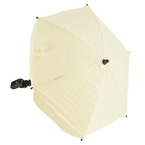 For-Your-Little-One BA Sonnenschirm kompatibel mit Emmaljunga Combi, creme