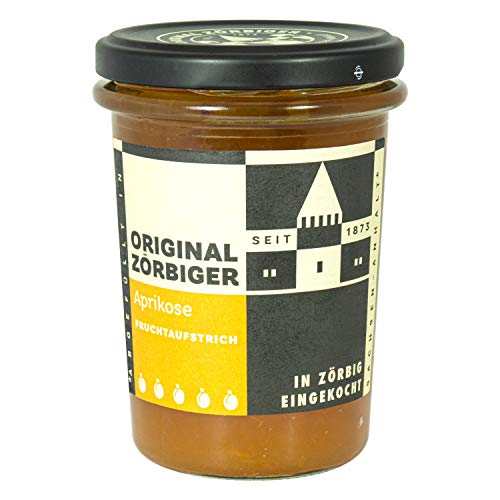 Zörbiger Aprikosen Fruchtaufstrich Extra - tolle DDR Kultprodukte - Ostprodukte