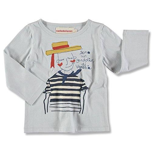 nadadelazos Tee GONDOLIERI T-Shirt, Armani Grey, 18-24 Mois Bébé garçon