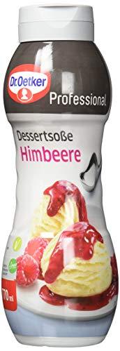 Dr. Oetker Professional Dessertsoße Himbeere, 770 ml