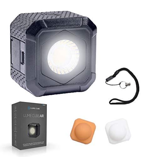 Lume Cube Air Iluminación Led Mini para Smartphone, Cámara, Drone Y Gopro, Negro
