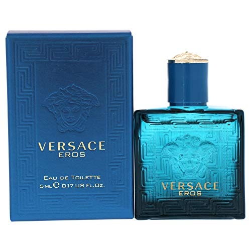 Versace Eros By VERSACE 0.17 oz Mini EDT For Men