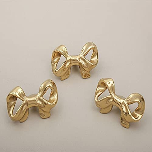 Super Special SALE held Super Special SALE held Furniture Hardware Handles Golden And Bowknot Knob Brass