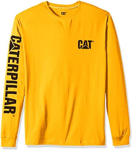 Caterpillar - Tee shirt à manches longues banner Caterpillar - 1510034 - Jaune, L