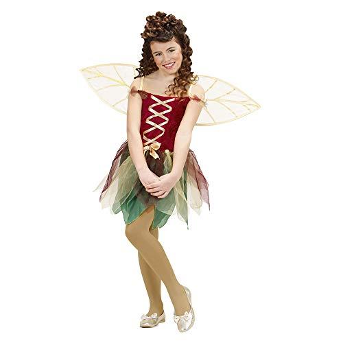 WIDMANN 12997 - Costume da fatina Bambina, abito con ali, taglia: 140 cm