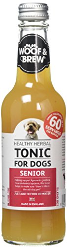 330 ML Zzzwoof&brew senior herbal tonic hondenvoer