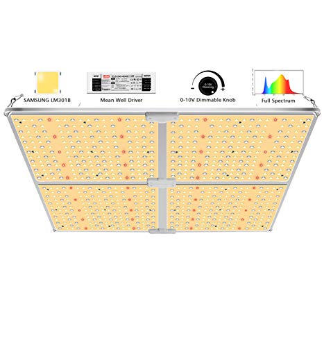 SYLSTAR LED Grow Light with High-Efficiency Samsung LM301B & Dimmable Mean...