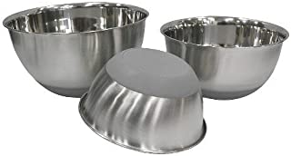 Threshold Stainless Steel Non Skid Mixing Bowl Set of 3 by Threshold