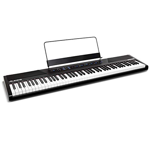 Alesis Recital – 88 Key Digital Electric Piano / Keyboard with Semi...