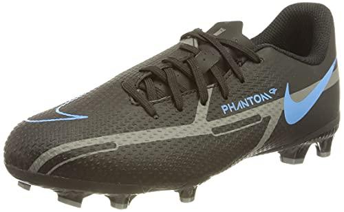 Nike Jr. Phantom GT2 Academy FG/MG, Zapatillas de ftbol, Black Black Iron Grey, 36.5 EU