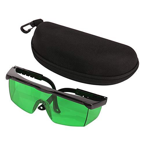 Gafas de Seguridad Protectoras, Gafas de Visibilidad Gafas de Mejora Gafas para Nivel Protección Ocular Gafas de Seguridad, Gafas de Protección(Verde)