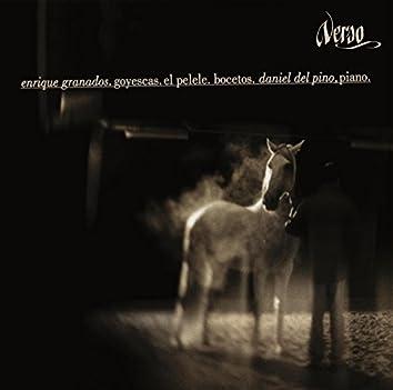 Enrique Granados: Goyescas, El pelele, Bocetos, Daniel del Pino, Piano