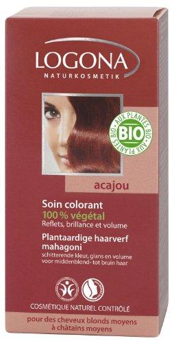 Logona - 1009aca - Soins Colorants - Acajou - 100 g BIO