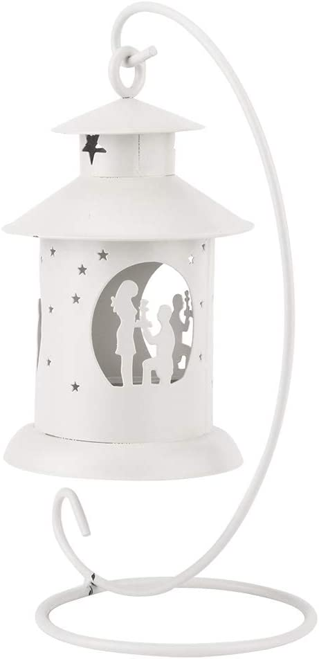 Sacramento Mall Socobeta Durable Romantic Candle Holder Out Hollow Pattern Popular products Evenl
