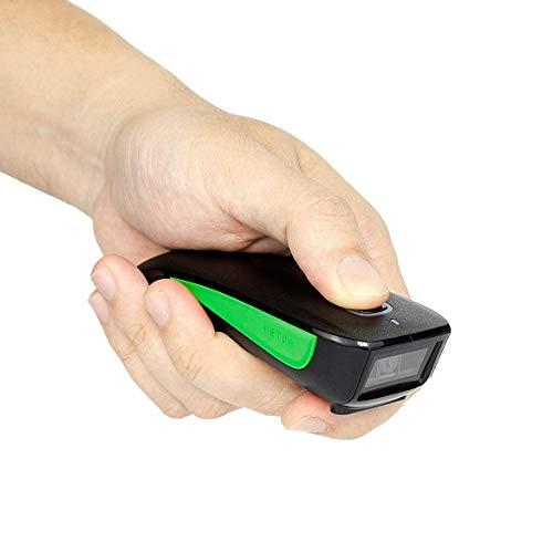 NETUM C740 Scanner di codici a barre wireless compatibile Bluetooth, scanner tascabile USB 1D per inventario, lettore di immagini di codici a barre per tablet iPhone iPad Android iOS PC POS