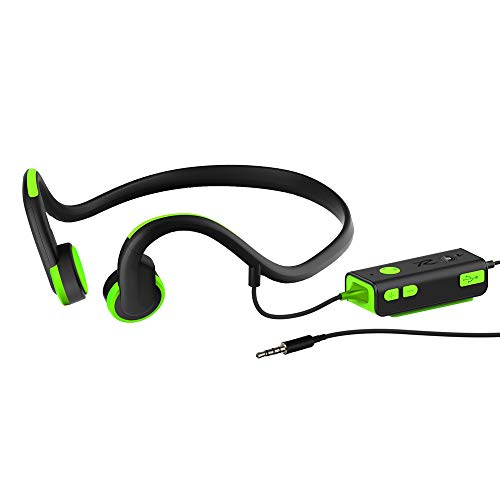 VIER Bone Conduction Headset Bedraad Bluetooth Headset Headset Met HD Microfoon Sport Loopband