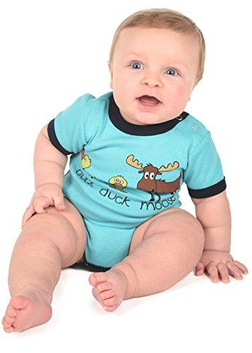 LazyOne Garçon Duck Duck Moose Body Bebe Vest 18 Months