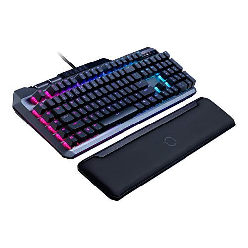 Cooler Master MK850 Wired RGB Tastiera da Gioco w/Magnetic Wrist Rest - US English Layout