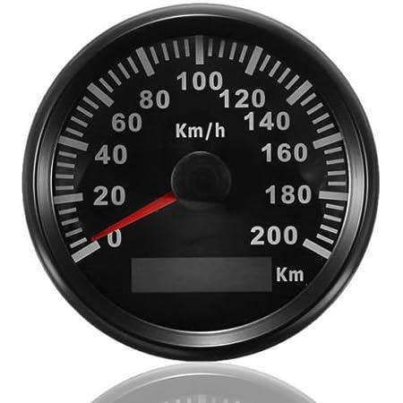 Eling Drehzahlmesser Mit Stundenzähler Für Auto Lkw Boot Yacht 0 8000 U Min 85 Mm Mit Hintergrundbeleuchtung Auto