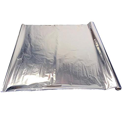 Earth Start Reflective Mylar Roll 25 Feet Long, 2 Mil Thick