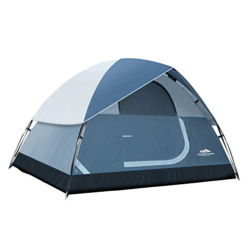 AsterOutdoor Camping Dome Family Tent 2/4/6 Person Camp Waterproof Tent for Outdoor Hiking Fishing Backyard Campouts, Roomy & Lightweight, Easy Setup, Carry Bag Included